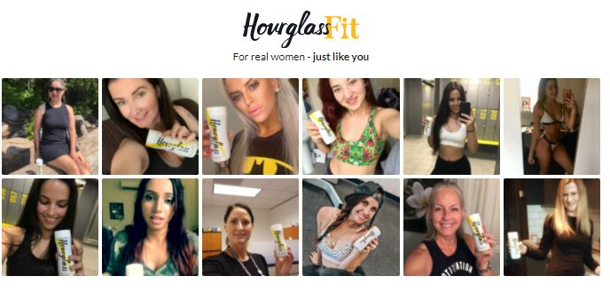 Hourglass Fit Real Woman